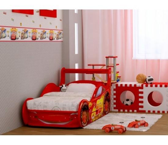 Кровать-машина Молния + (с выдвижным ящиком)
