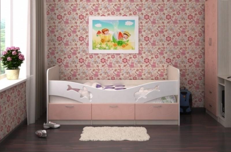 Детская кровать Дельфин - 2 метра.