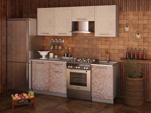 Кухонный гарнитур Мозайка 2,1 м