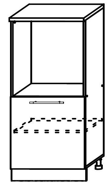 Шкаф нижний под духовку с одной дверцей ШНВД 600 София