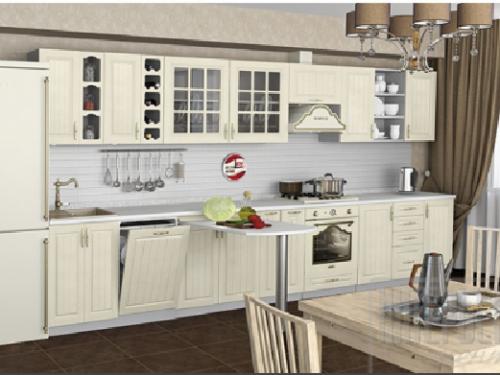 Кухня Лондон дуб крем 4200мм