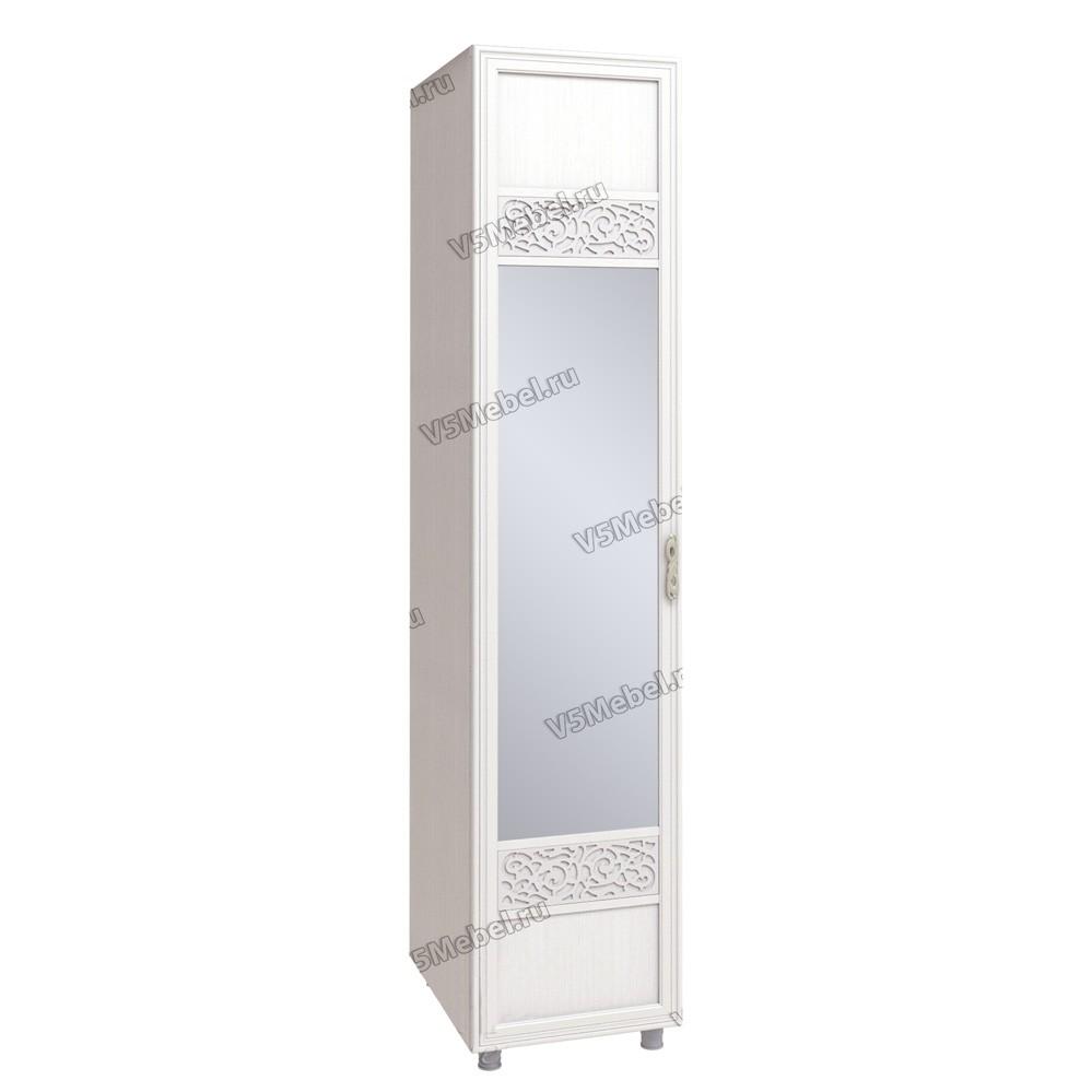 Шкаф одностворчатый с зеркалом Виктория