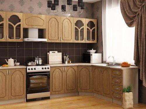 Кухонный гарнитур Угловая
