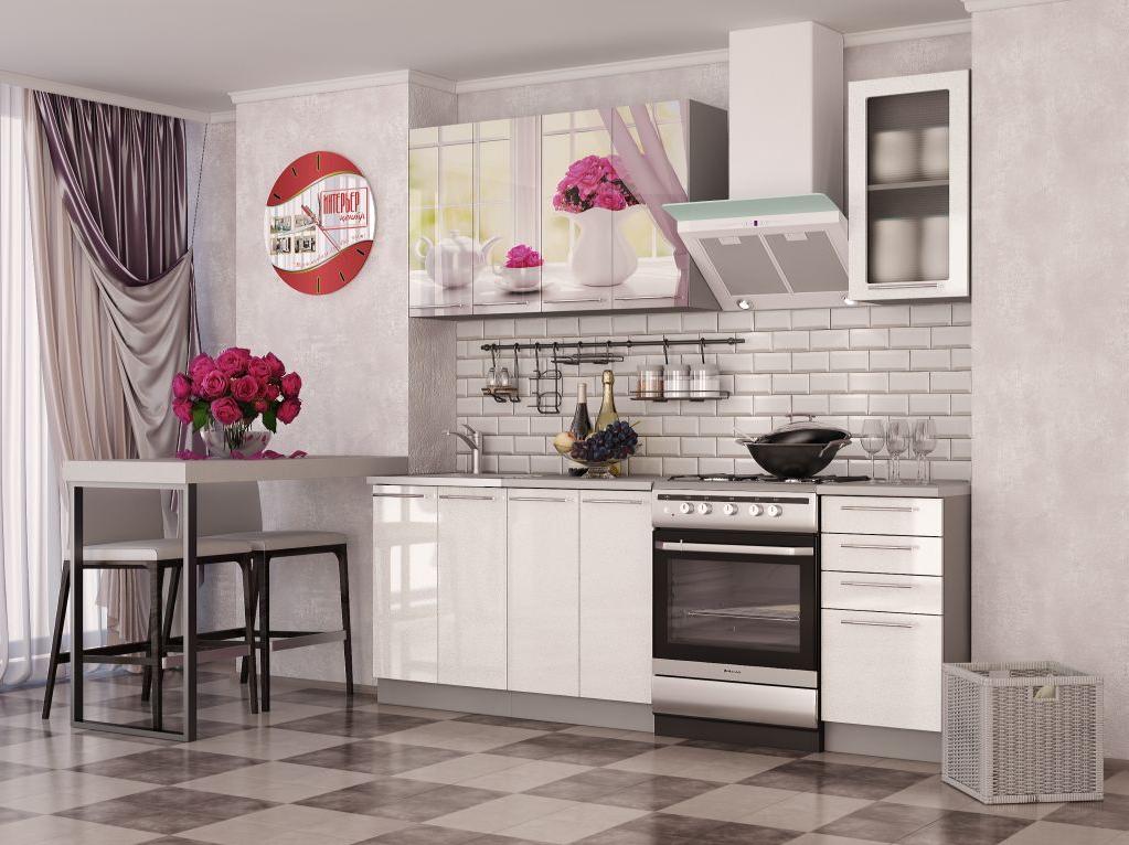 Кухонный гарнитур Розы - 1.6 МДФ