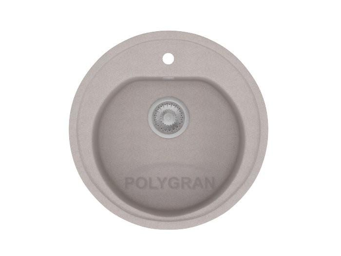 Мойка из исскуственного камня POLYGRAN F-08 серый