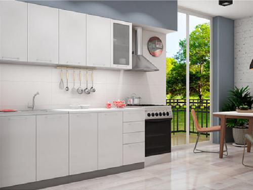 Кухонный гарнитур - белый