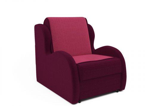 Кресло-кровать Атлант астра бордовая