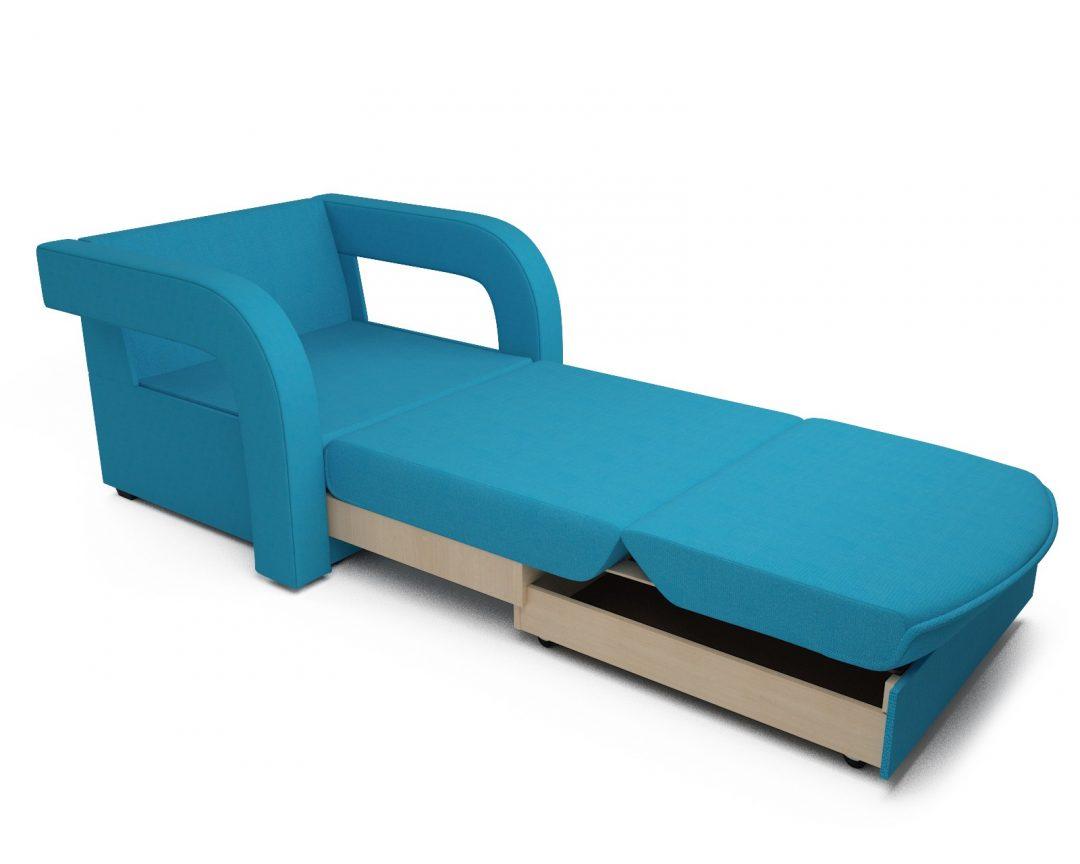 Кресло-кровать Кармен-2 (синий)