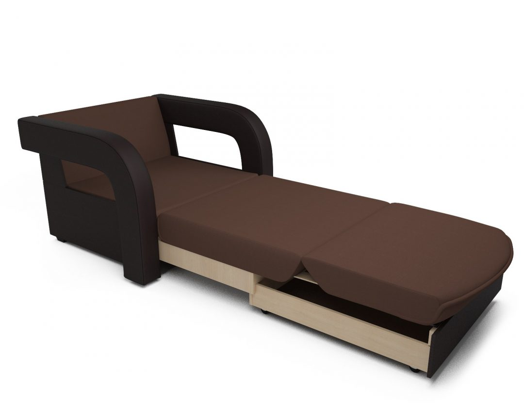 Кресло-кровать Кармен-2 (рогожка шоколад)