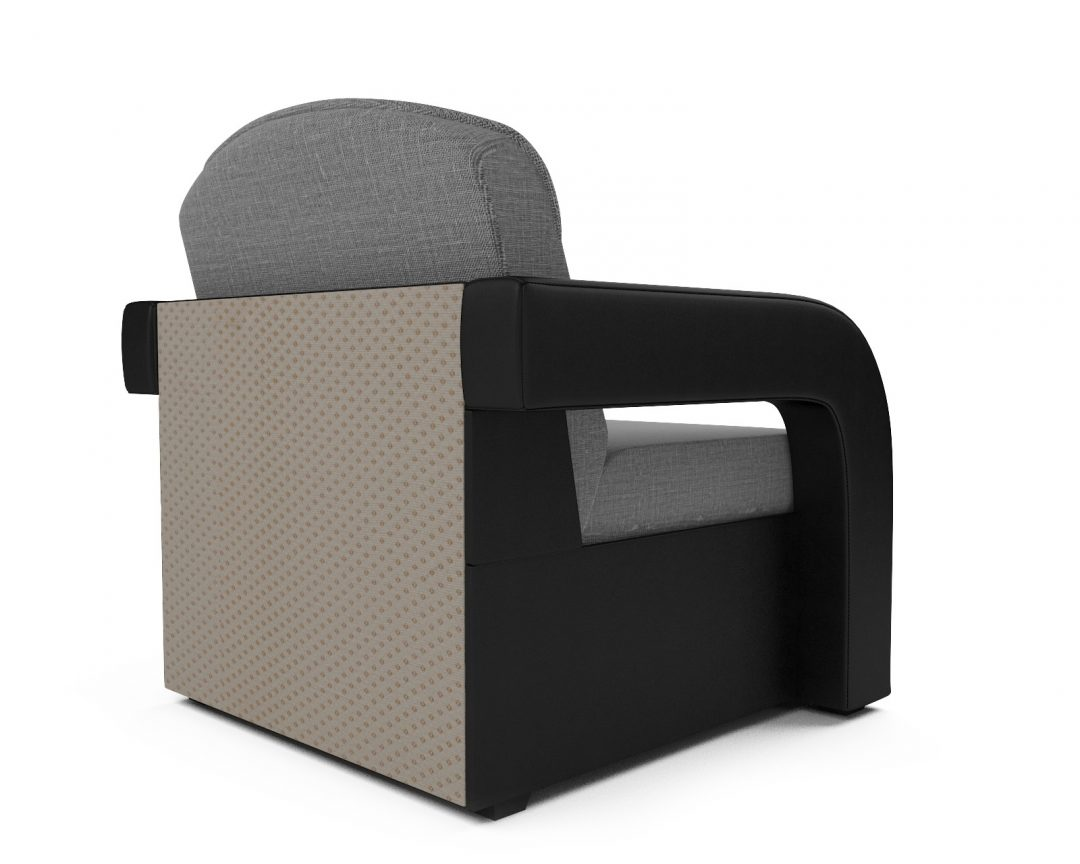 Кресло-кровать Кармен-2 (рогожка серая)