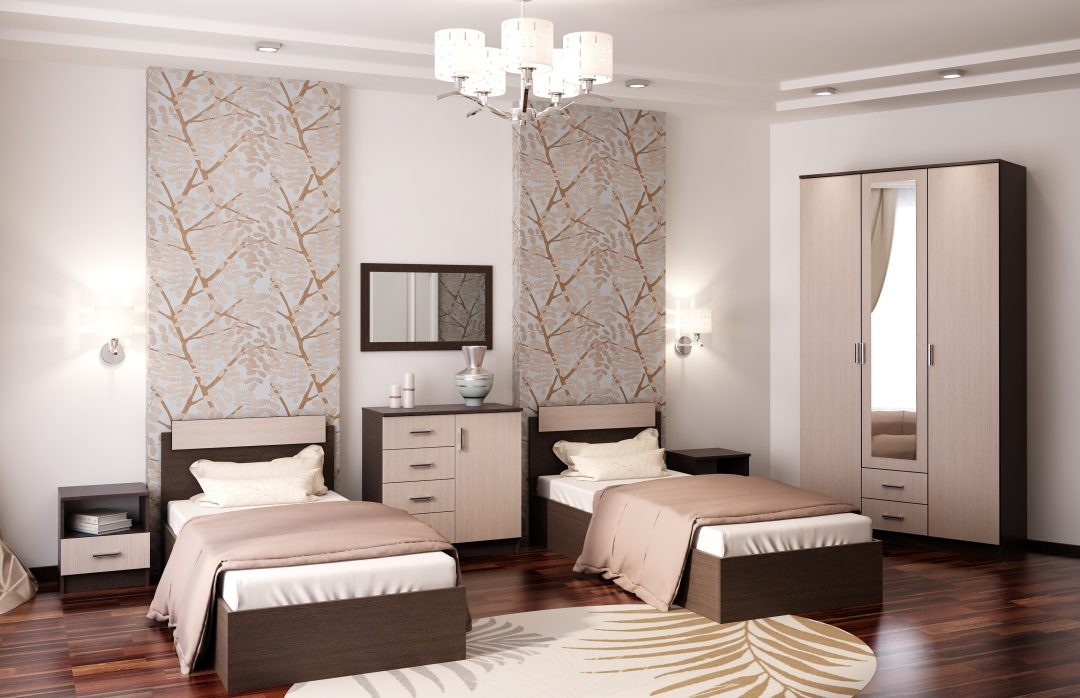 Спальный гарнитур Трио