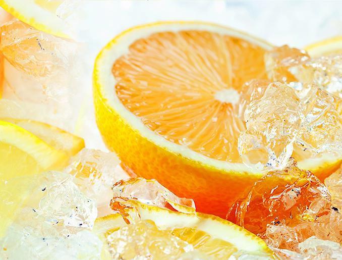Стеновая панель (Скинали) для кухни - Апельсин