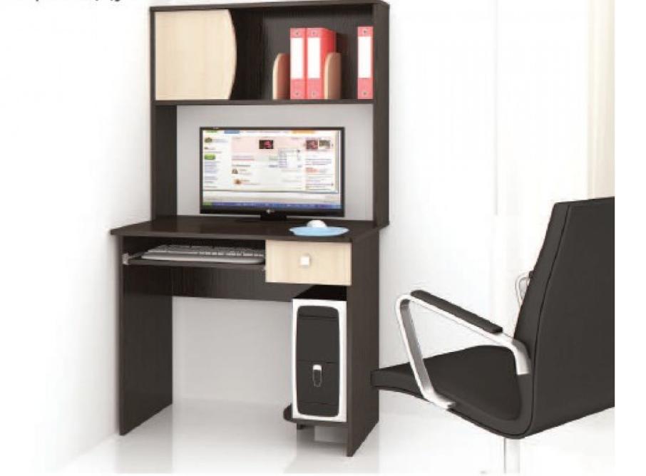 Стол компьютерный Грета №4 - венге