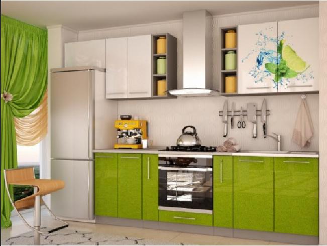 Кухня - Лайм микс - 2.4м