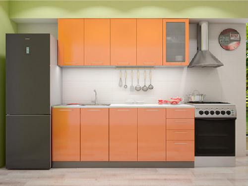 Кухонный гарнитур - оранж