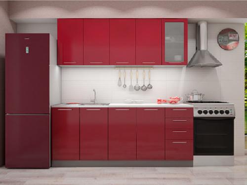 Кухонный гарнитур -гранат