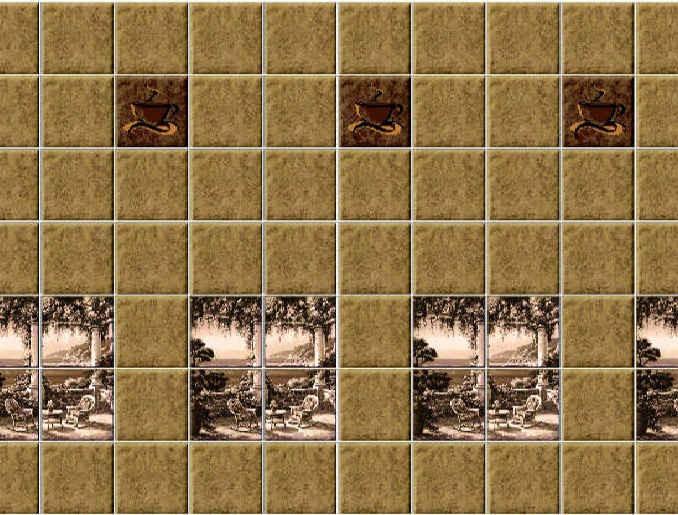 Стеновая панель (Скинали) для кухни - SP 022