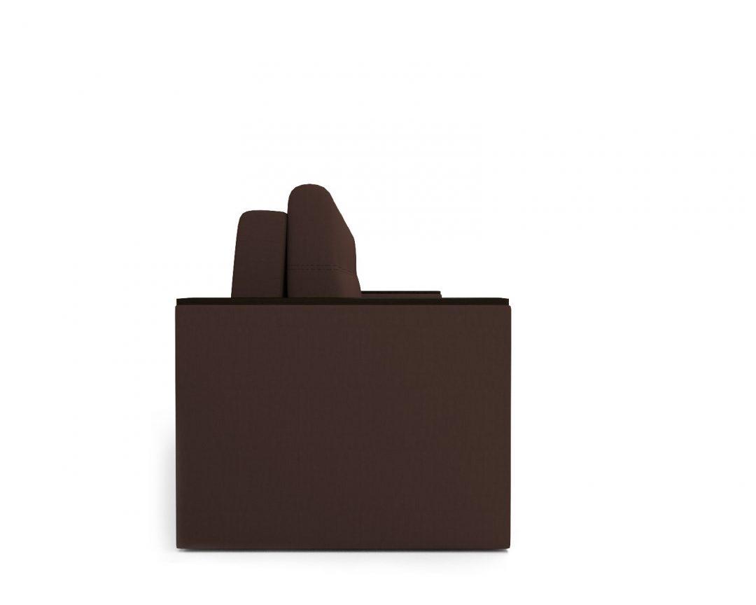 Еврокнижка Атланта (рогожка шоколад)