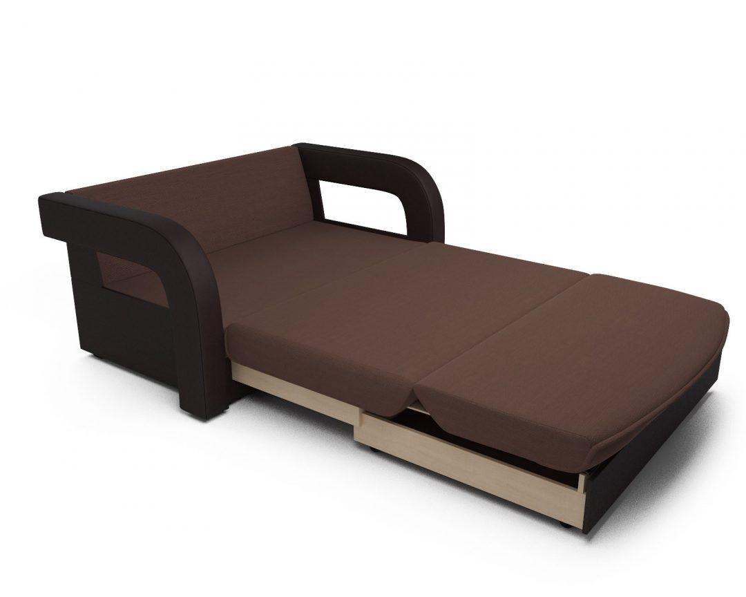 Диван Кармен-2 (рогожка шоколад)