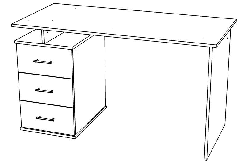 Компьютерный Стол СТ - 1 (левый и правый)