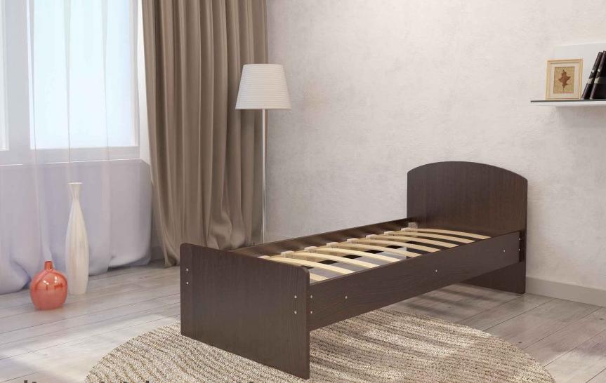 Кровать Весна 800мм венге