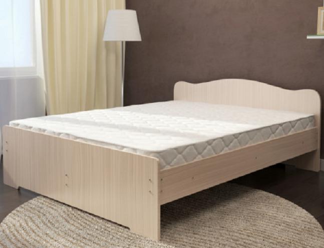 Кровать Весна 1600мм белёный дуб