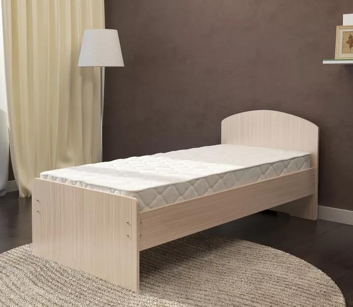 Кровать 0,9 с матрасом