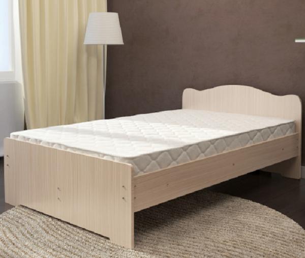Кровать Весна 1200мм белёный дуб