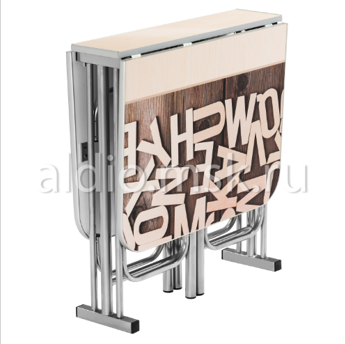 Стол тумба 120х68 см. Алфавит