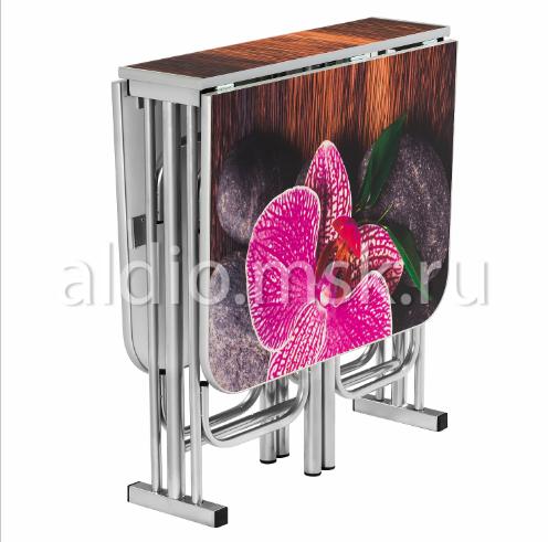 Стол тумба  Орхидея 120х68 см.