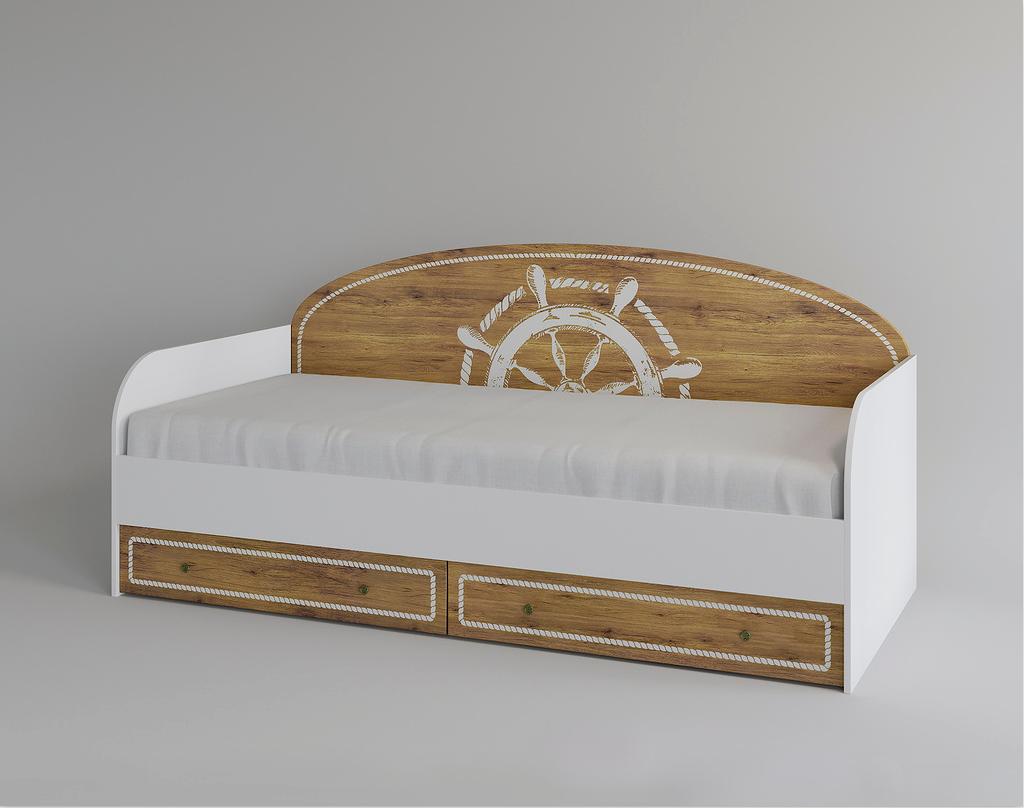 Кровать с ящиками Юнга