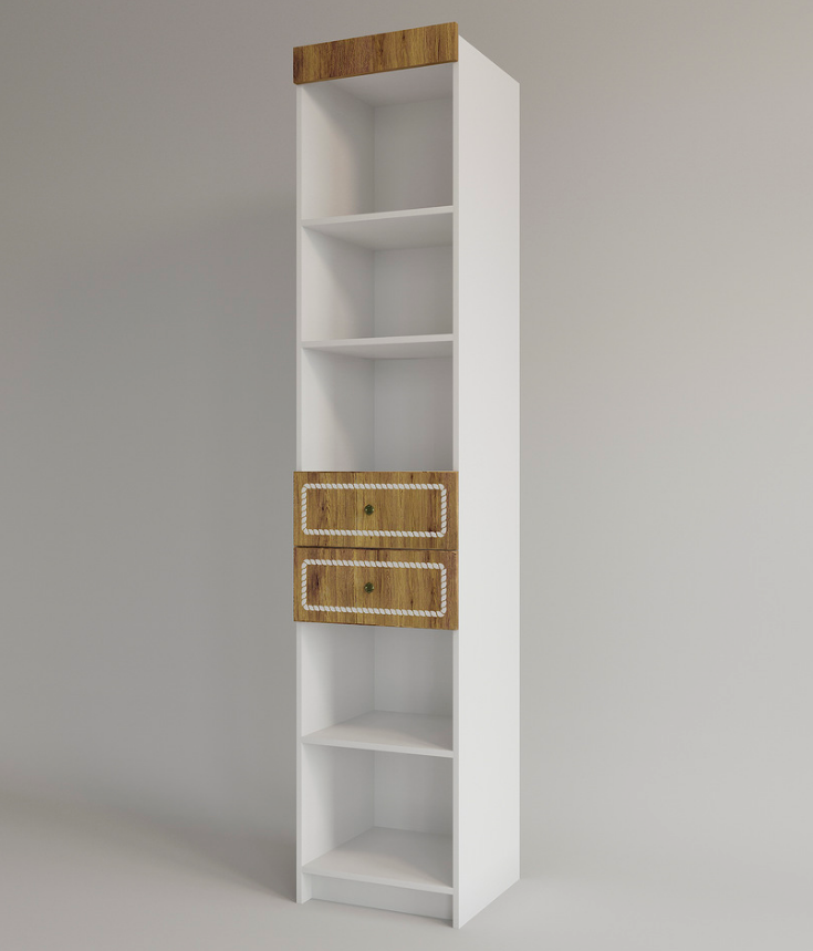 Стеллаж с ящиками Юнга - 45 см