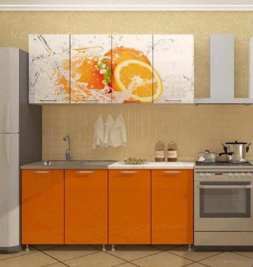 Кухня Апельсин 1.6 ЛДСП