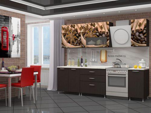 Кухня Кофе -2 МДФ - 2м.