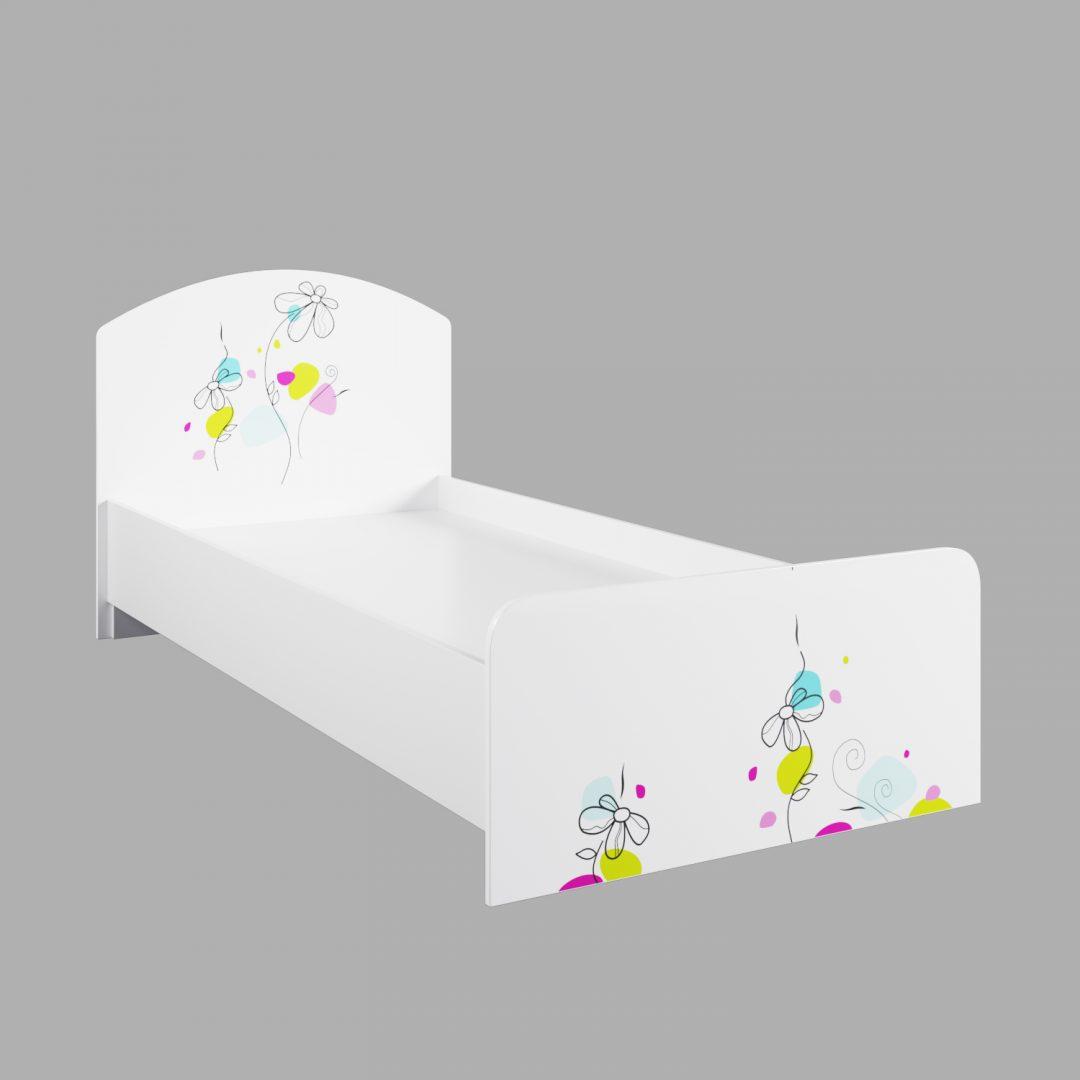 Детская кровать Радуга КРД 900