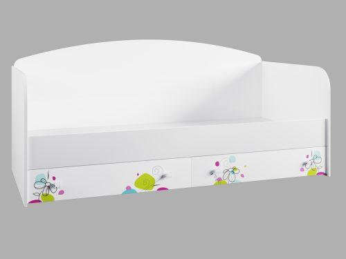 Кровать с ящиками Радуга