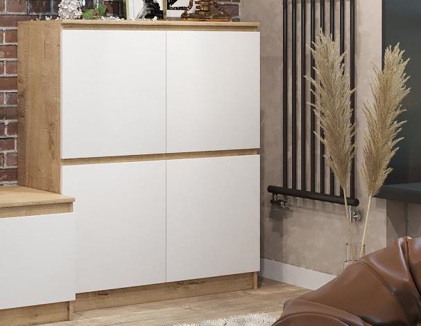 Шкаф-пенал с распашными фасадами МШП 1000.1