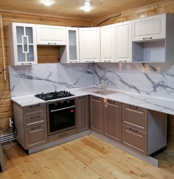 Кухня Квадро ваниль 230х260