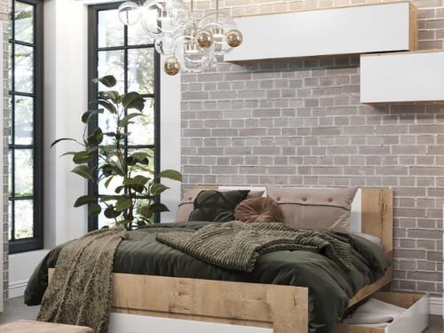 Кровать с ящиком МКР-160.1