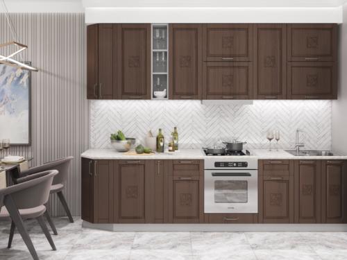 Кухня Тито-бронза 3м