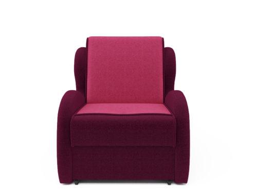 Кресло кровать -Атлант астра бордовая