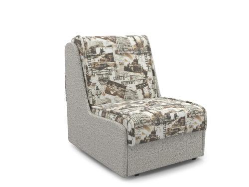 Кресло-кровать Аккорд№2 газета коричневая