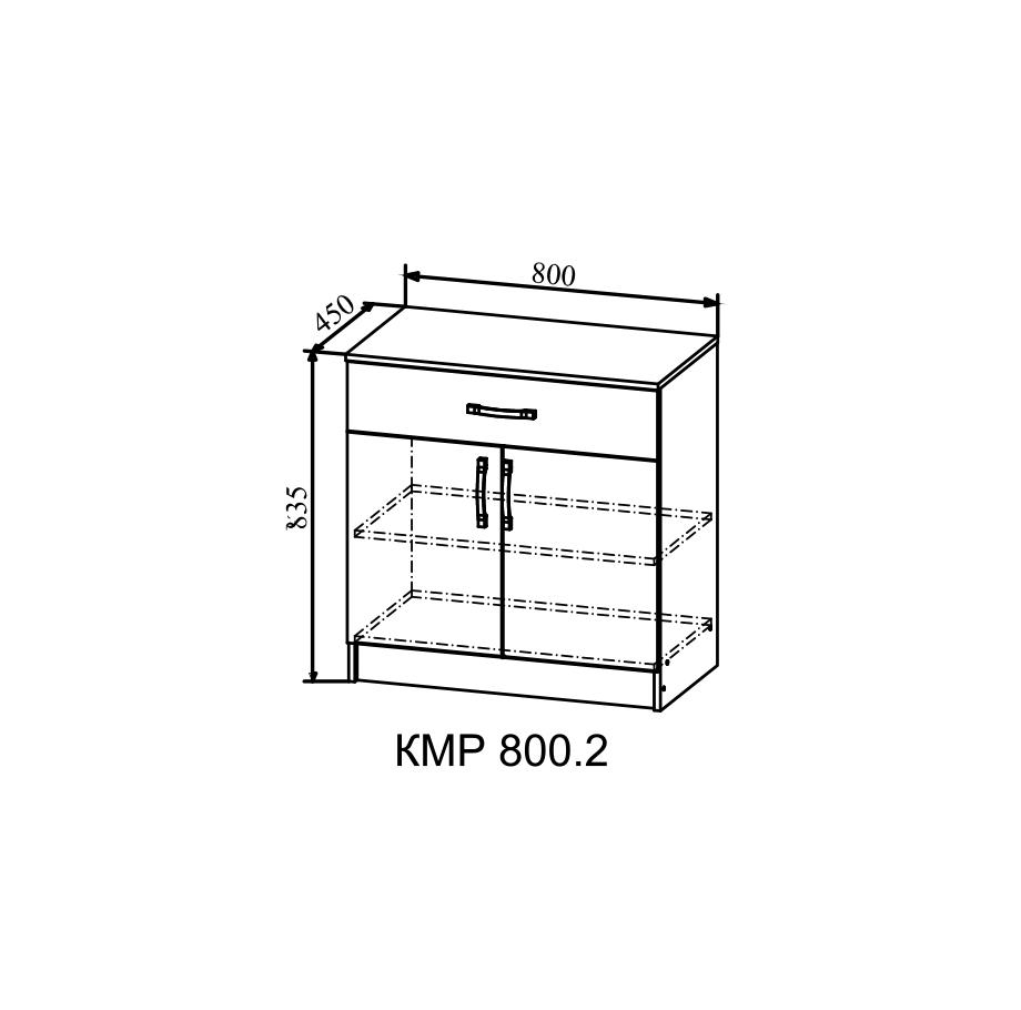 Комод КМР-800.2