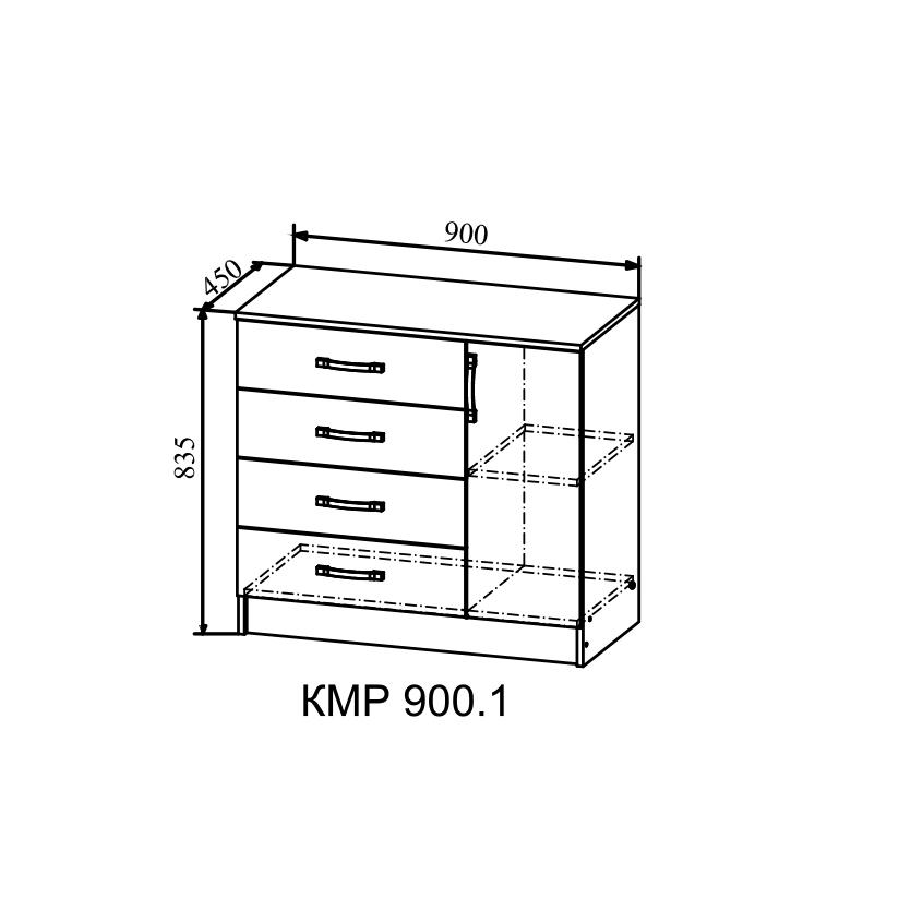 Комод КМР-900.1 белфорд
