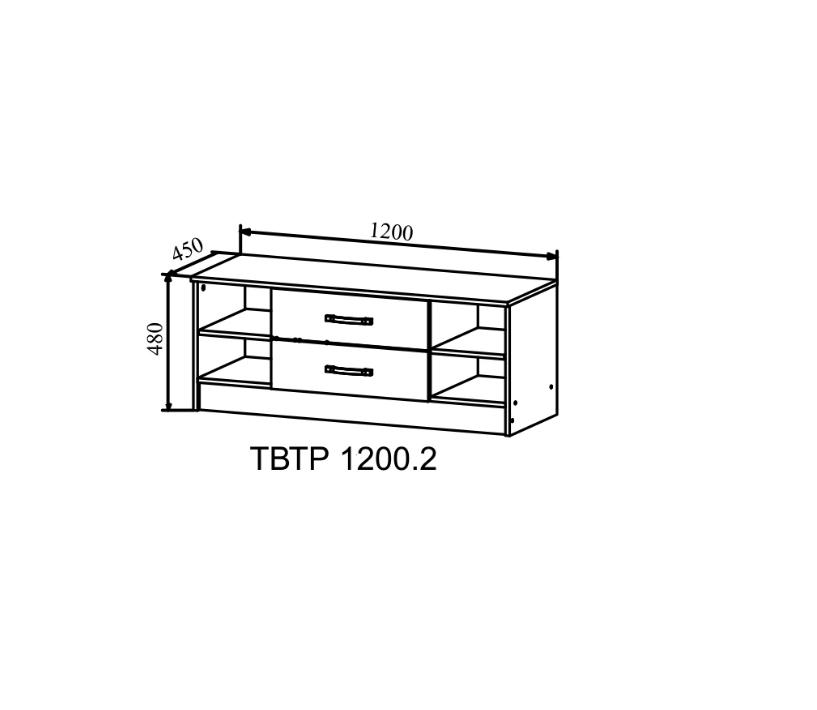 Тумба под ТВ - ТВТР 1200.2